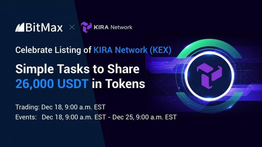 BitMax.io Announced the Listing of Kira Network (KEX) to Support Liquid Staking