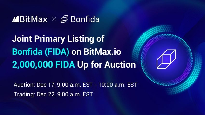 BitMax.io Announces the Primary Listing